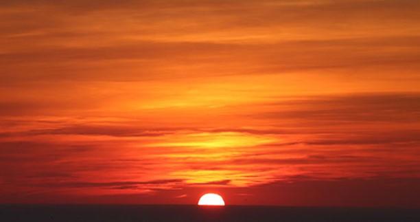 ondergaande zon bij gecdicht 692